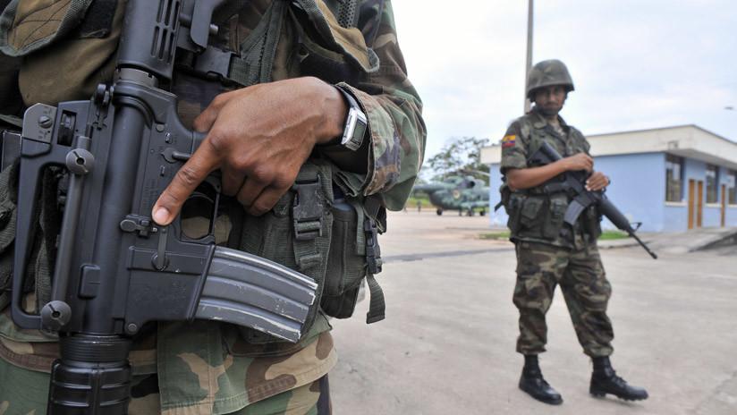 Nuevo ataque: Militares ecuatorianos resultan heridos en la frontera con Colombia