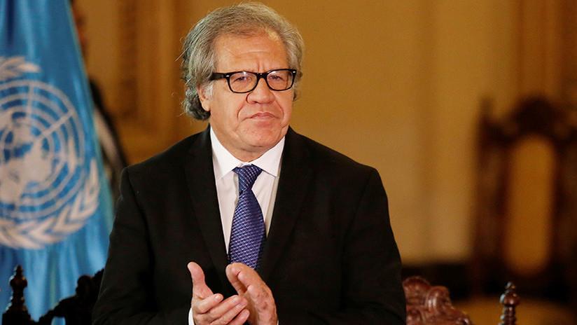 """Almagro pide sanciones """"más fuertes"""" y una """"intervención"""" en Venezuela"""