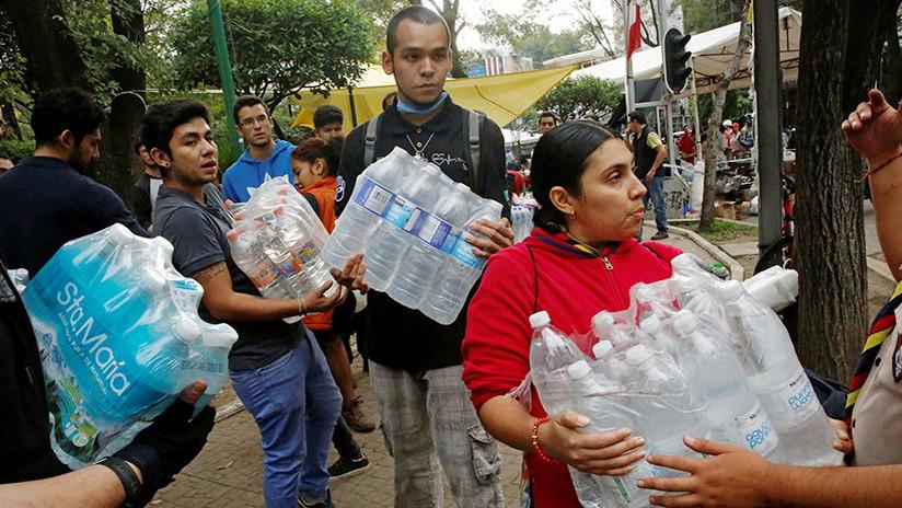 Ciudad de México: Vecinos cortan las calles por la falta de agua en los hogares
