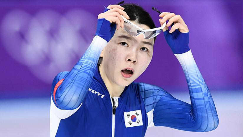 Una patinadora de velocidad surcoreana rompe a llorar tras sufrir 'bullying' en los Juegos