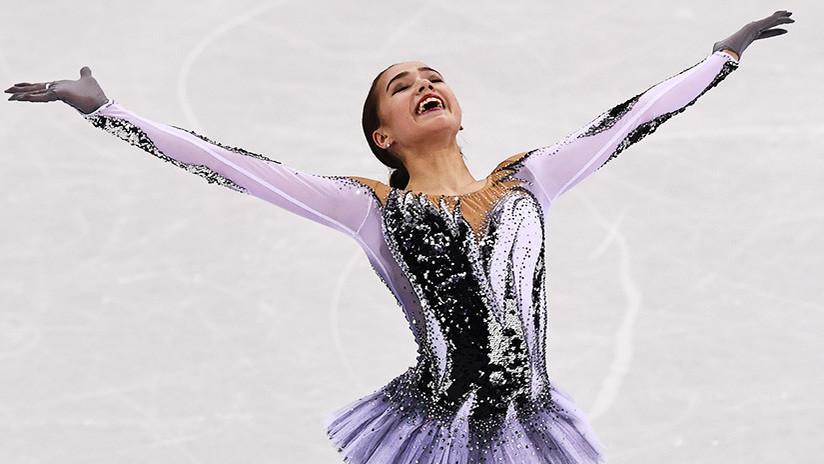 Una patinadora rusa bate el récord mundial 10 minutos después de que otra rusa lo lograra