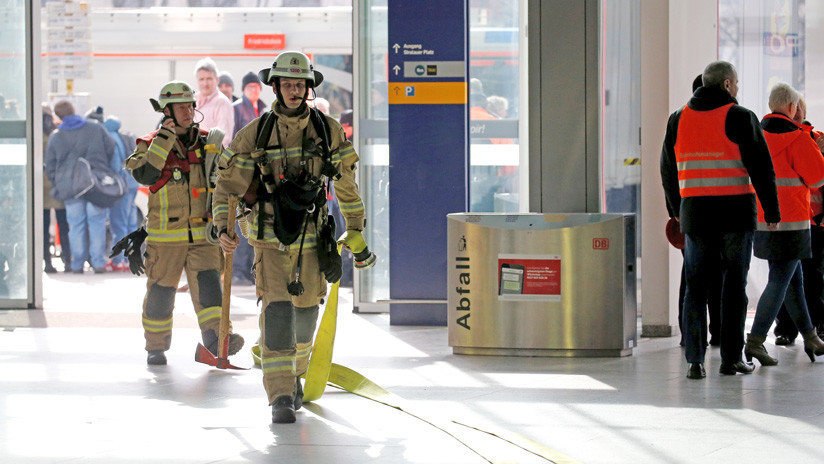 La Policía asegura la estación evacuada en Berlín ya no corre peligro