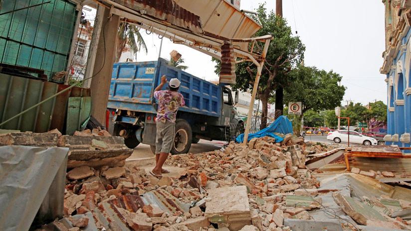 México: Damnificados de los sismos en Oaxaca declaran 'persona non grata' a la secretaria de Estado