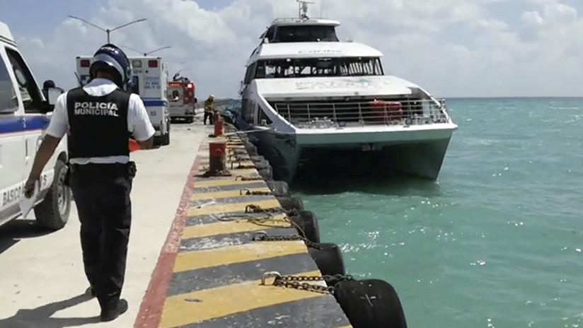 VIDEOS: Momento exacto de la explosión de una naviera al sur de México
