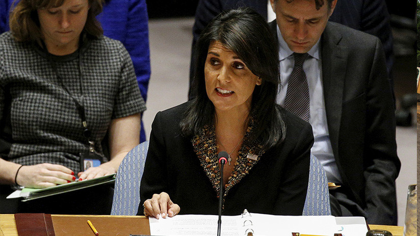 """""""No me callaré"""", dijo la representante de EE.UU. en la ONU al negociador palestino"""