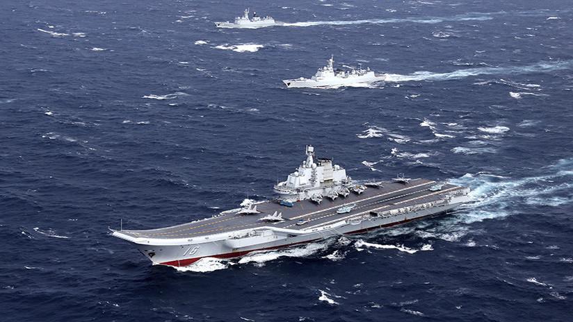 Once buques de guerra chinos entran al Océano Índico en medio de polémica con la India