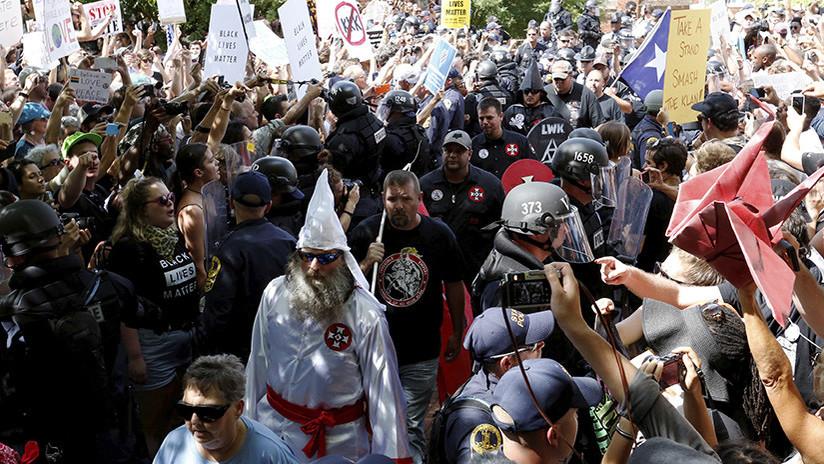 Los grupos de odio aumentan en EE.UU. desde que es Trump es presidente