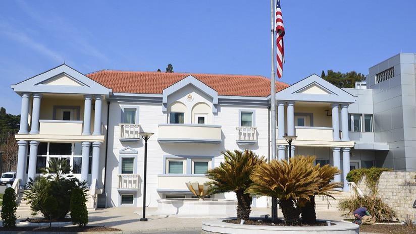 Atacan embajada de EU en Montenegro