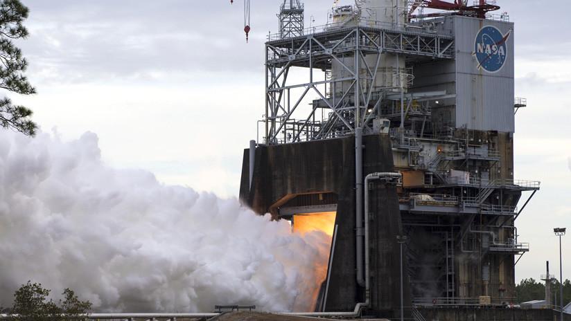 VIDEO: La NASA prueba al máximo el motor de cohete más potente de EE.UU.