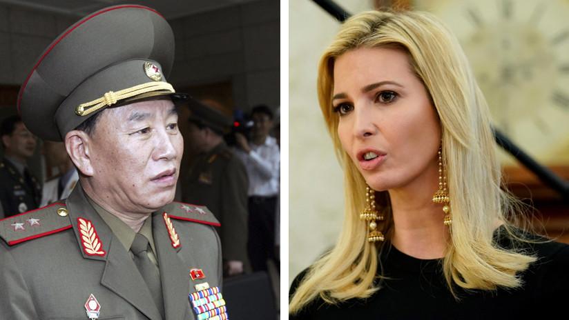 Ivanka Trump 'enfrentará cara a cara' a un general norcoreano