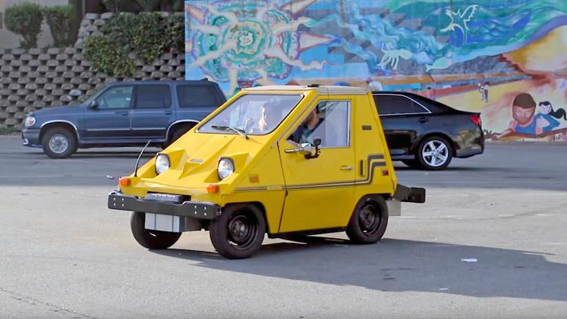 VIDEO: Inventores aficionados convierten un auto eléctrico en el 'mouse' más grande del mundo