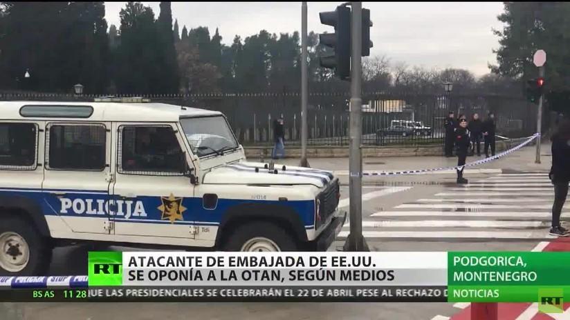 El responsable del ataque a la embajada de EE.UU. en Montenegro se oponía a la OTAN