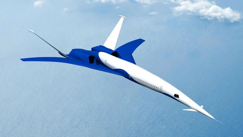 Este avión hipersónico chino tardará 2 horas en viajar de Pekín a Nueva York