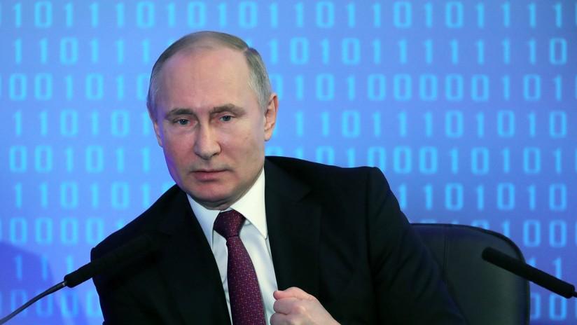 """Putin: """"Rusia llegó a la vanguardia en capacidad de combate"""""""