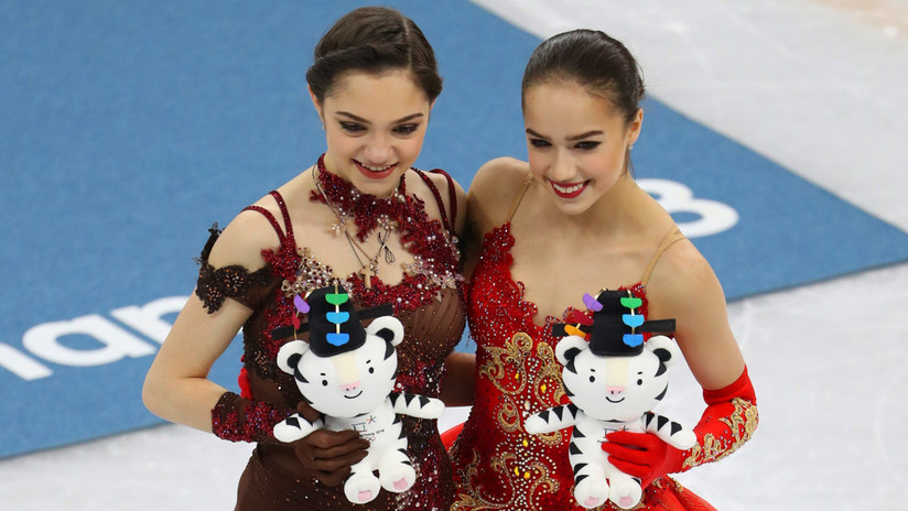 La patinadora rusa Zaguítova consigue a sus 15 años el primer oro en patinaje artístico para Rusia