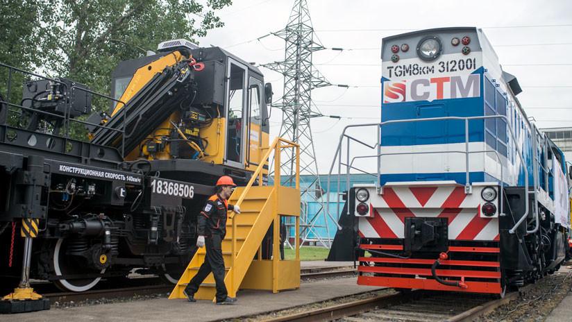 Llega a Cuba un nuevo lote de locomotoras diésel rusas