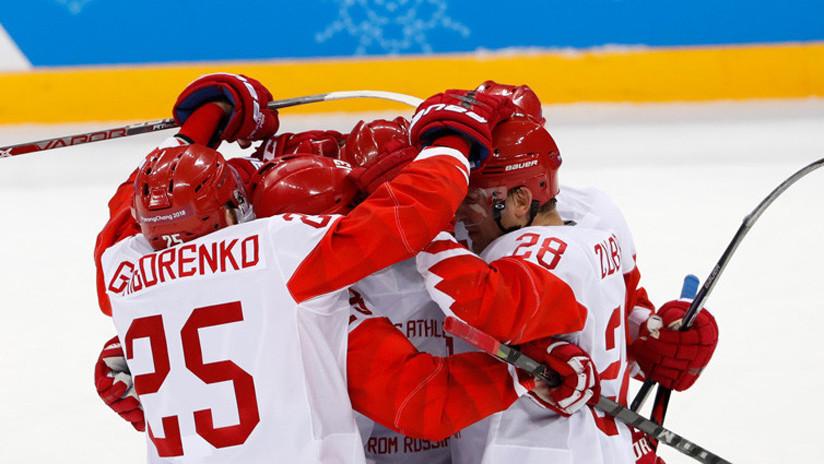 El equipo ruso de hockey sobre hielo pasa a la final de los JJ.OO. por primera vez en 20 años