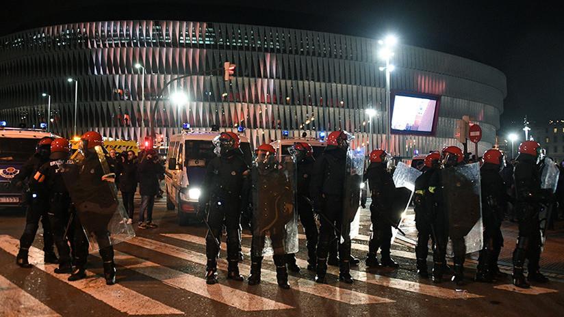 """Spartak de Moscú: """"Sabíamos que no íbamos a ser bienvenidos en Bilbao"""""""