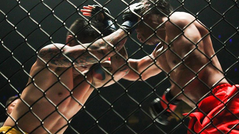 Patada fulminante: Luchador de artes marciales mixtas noquea a su rival y lo socorre (VIDEO)