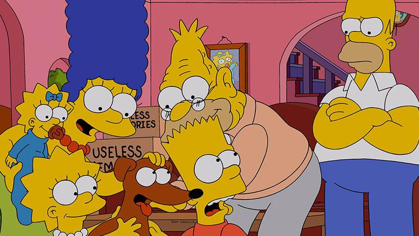 El divertido hallazgo de un fanático de 'Los Simpson' en Buenos Aires que podría ser un 'fake'