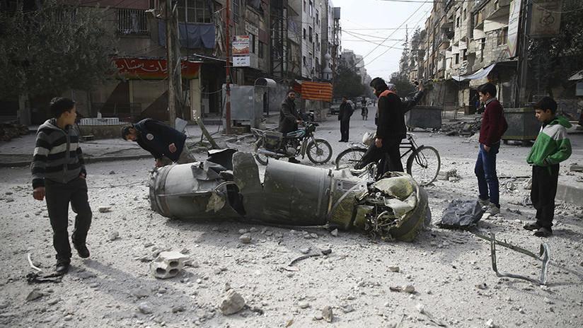 Los milicianos bloquean la ayuda de Damasco a la población civil en Guta Oriental