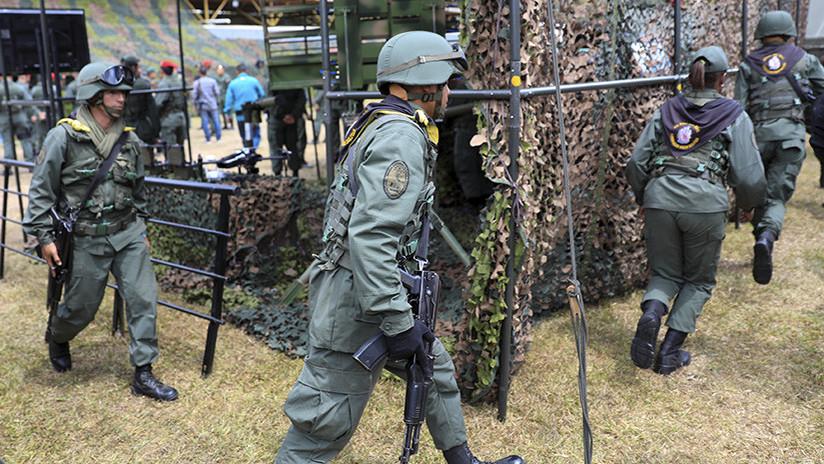 Venezuela realiza ejercicios militares a gran escala con participación de civiles