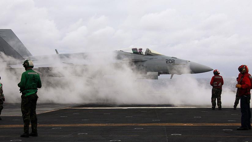 VIDEO: Así se siente al despegar de un caza F-18 desde un portaaviones