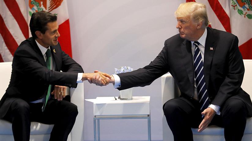 Trump menciona por teléfono el muro con México a Peña Nieto y este posterga su visita a Washington