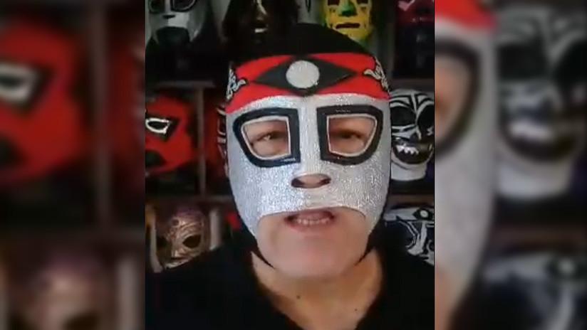 El luchador mexicano Octagón desmiente los rumores de su muerte