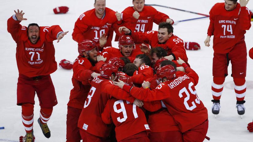 """""""Un equipo sin país"""": The New York Post comenta la medalla de oro de los rusos en hockey"""