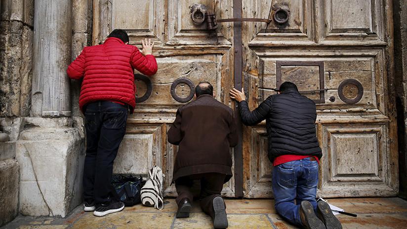 Jerusalén: La iglesia del Santo Sepulcro cierra sus puertas para no pagar impuestos
