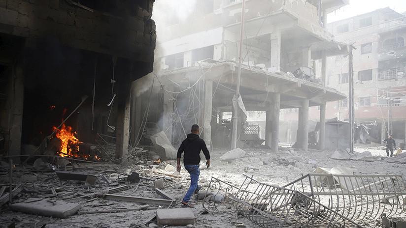 """Los terroristas preparan en Siria un ataque """"con armas químicas para culpar al Gobierno"""""""