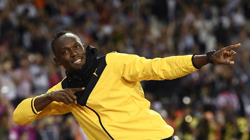 Usain Bolt revela que ha firmado un contrato con un club de fútbol