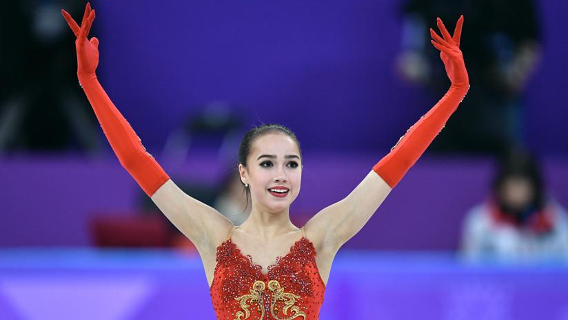 """""""La vería hacer mi programa con gusto"""": Estrella olímpica rusa reta a patinadora de EE.UU."""