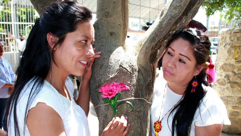 "México: 30 parejas se ""casan"" con árboles en Oaxaca"