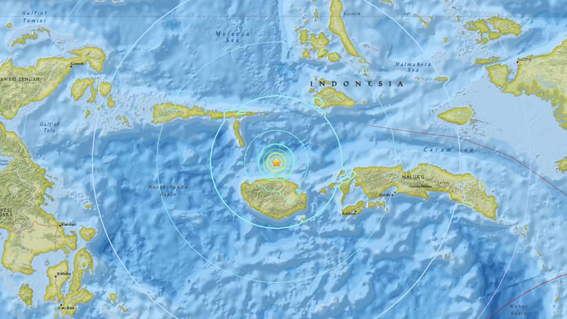 Un sismo de magnitud 6,1 sacude Indonesia