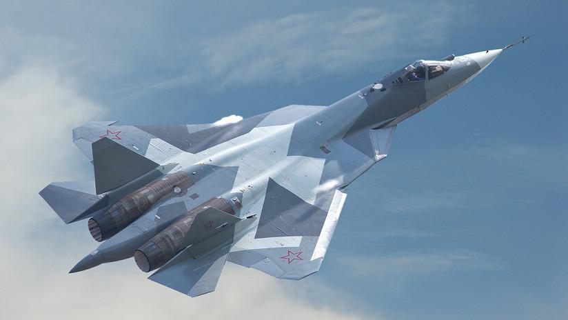 Los cazas de quinta generación rusos Su-57 estarían en Siria por este motivo