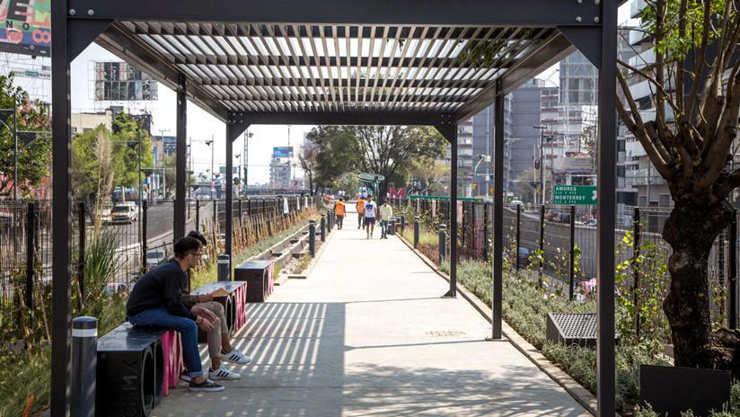 Ecoducto, el nuevo pulmón de Ciudad de México que depura aguas contaminantes