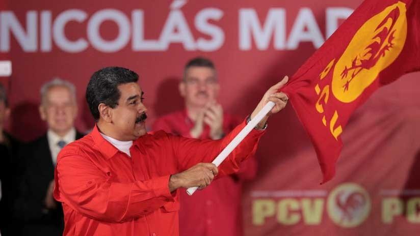 Venezuela: el Partido Comunista apoya la candidatura de Maduro en las presidenciales