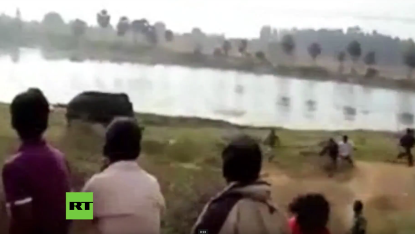 VIDEO INFARTANTE: Elefante enloquecido pisotea hasta la muerte a un granjero indio