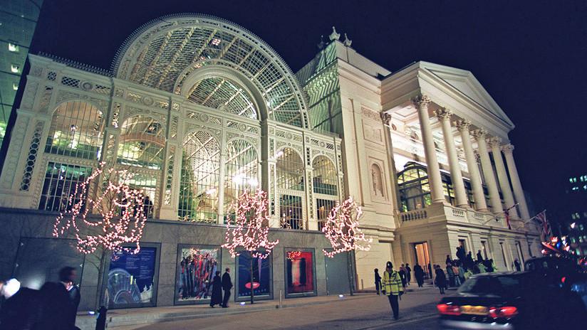 Evacuan la Royal Opera House de Londres por amenaza de bomba
