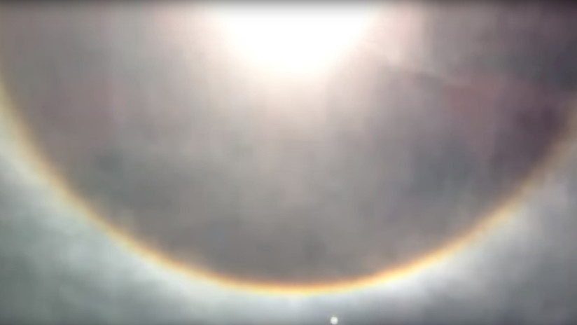 VIDEO: Dos anillos alrededor del Sol dejan boquiabiertos a los brasileños