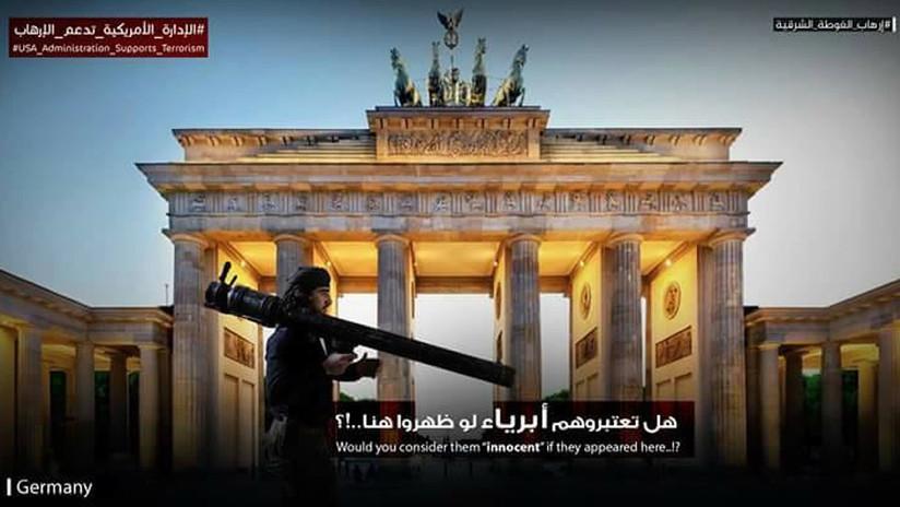 FOTOS: ¿Por qué la Red está inundada de imágenes de terroristas en las mayores ciudades de Europa?