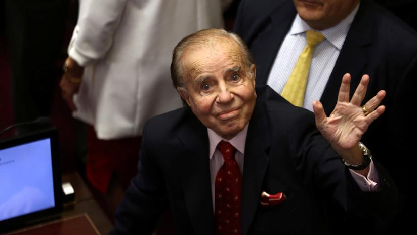 """Carlos Menem aseguró que todos los gobiernos fueron corruptos """"salvo"""" el suyo"""