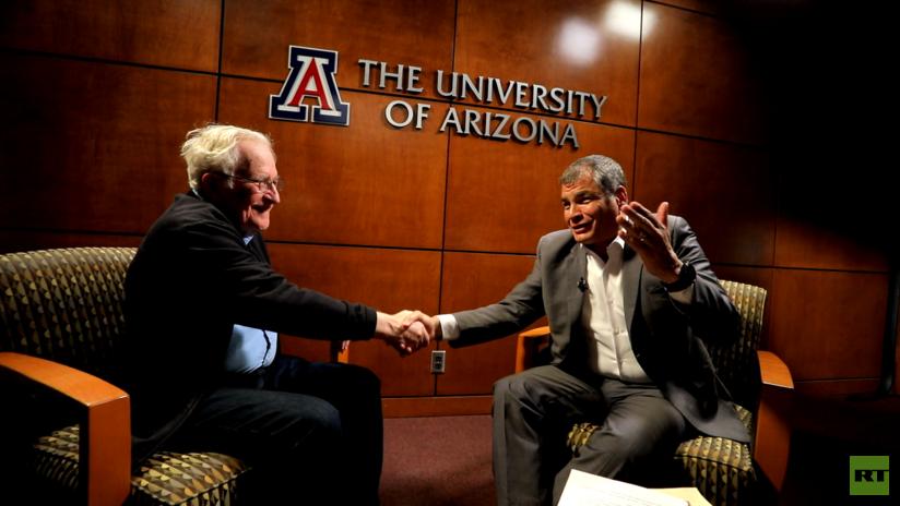 Ya se sabe quién será el primer invitado del nuevo programa de RT 'Conversando con Correa'