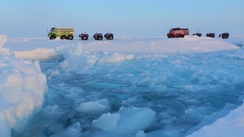 """El Polo Norte registra una """"anomalía entre anomalías"""" este mes"""