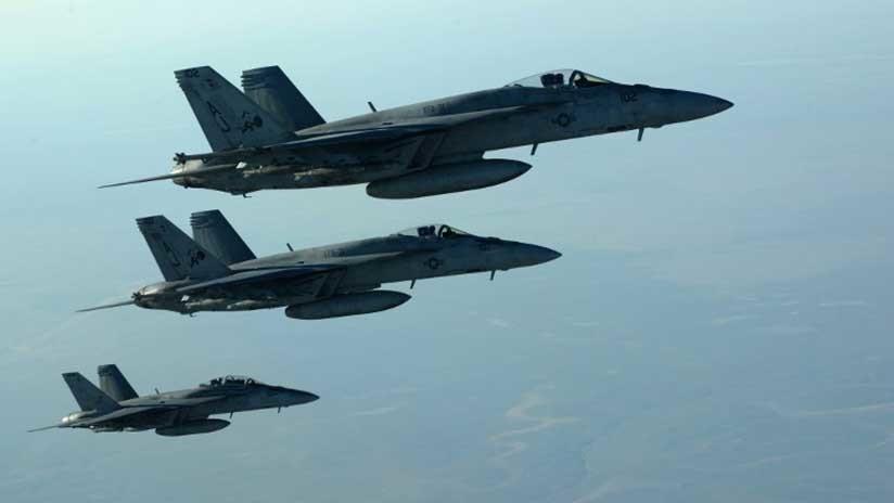 24 civiles mueren a causa de ataques aéreos de la coalición internacional al este de Deir ez Zor
