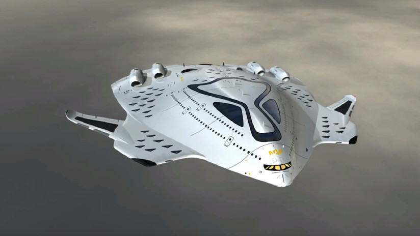 Un español idea un avión que llevaría de Londres a Nueva York en tres horas (FOTOS)