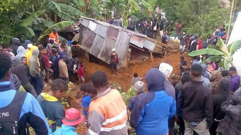 """""""Destrucción masiva"""": una serie de sismos arrasa aldeas enteras en Papúa Nueva Guinea (FOTOS)"""