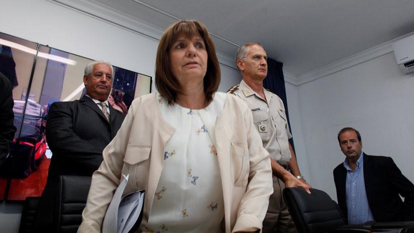 """Ministra de Seguridad argentina: """"Es falso que haya un asesinato de las fuerzas cada 23 horas"""""""